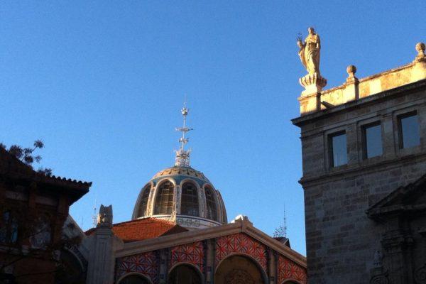 Ruta Camins Modernistes. Valencia. CaminArt. Mercat Central