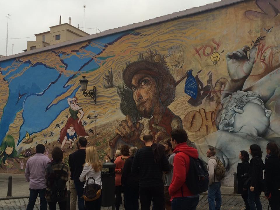 Street Art Tour. Ruta por el arte urbano de Valencia. CaminArt